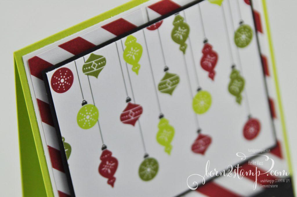 born2stamp STAMPIN' UP! Weihnachtskarte - Alle guten Wuensche - Memories & More Frohes Fest