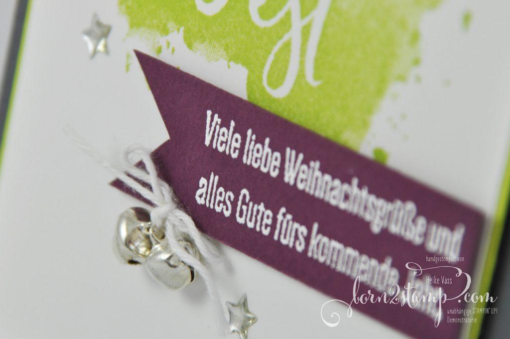born2stamp STAMPIN' UP! IN{K}SPIRE_me - Alle guten Wünsche - Embossing - Lack-Akzente