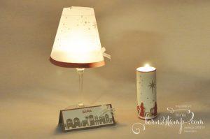 born2stamp STAMPIN' UP! IN{K}SPIRE_me Weihnachts-Special Tischdeko - Heilige Nacht - Edgelits Bethlehem - Organza-Geschenkband - Pergament