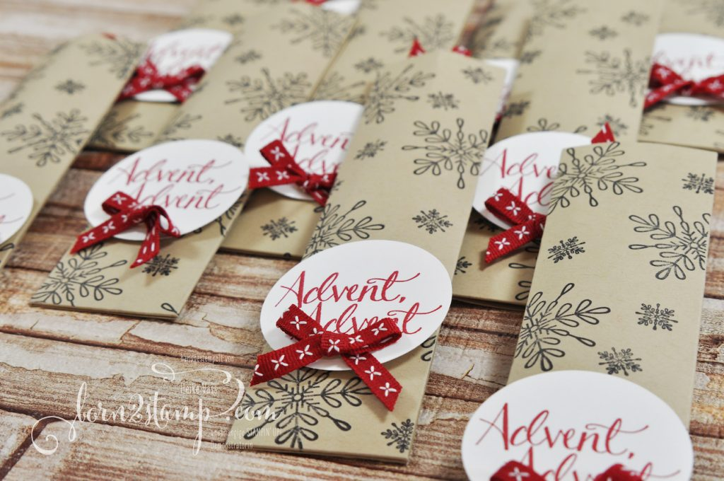 born2stamp STAMPIN' UP! Workshop Goodies November