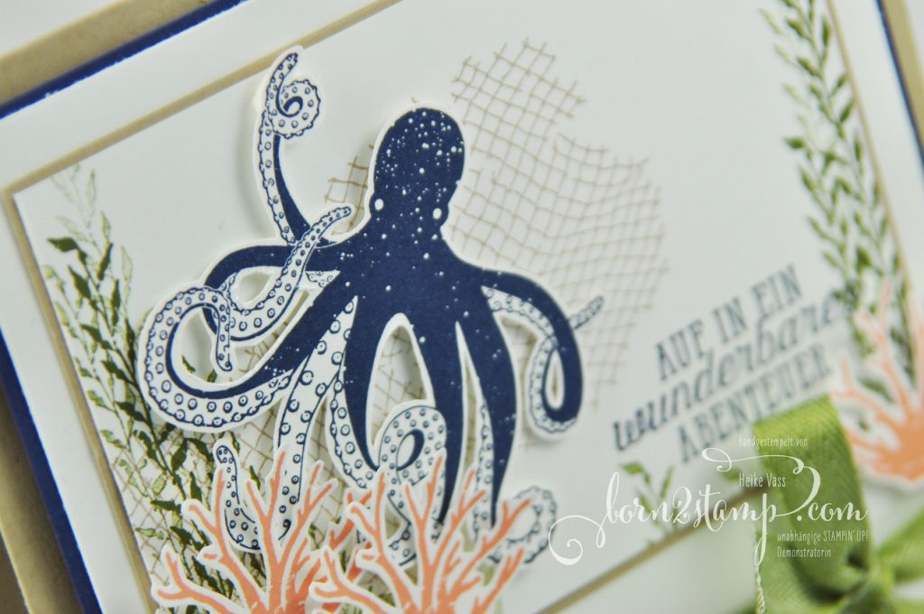 born2stamp STAMPIN' UP! IN{K}SPIRE_me Karte - Glueck und Meer