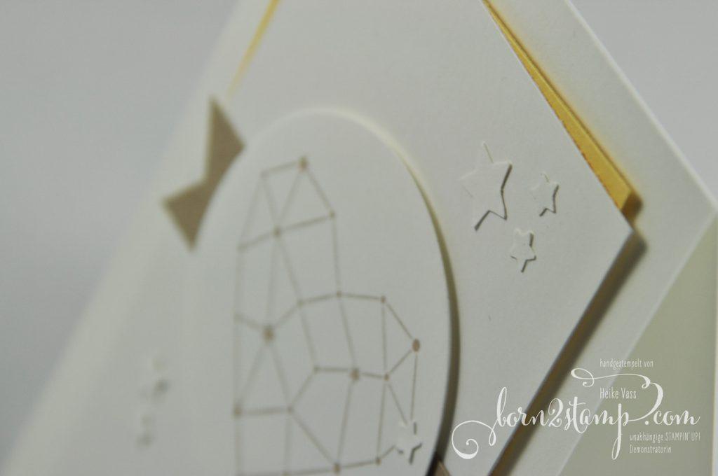 born2stamp INKSPIRE_me STAMPIN' UP! Hochzeitskarte - Sternstunden - Mond und Sterne