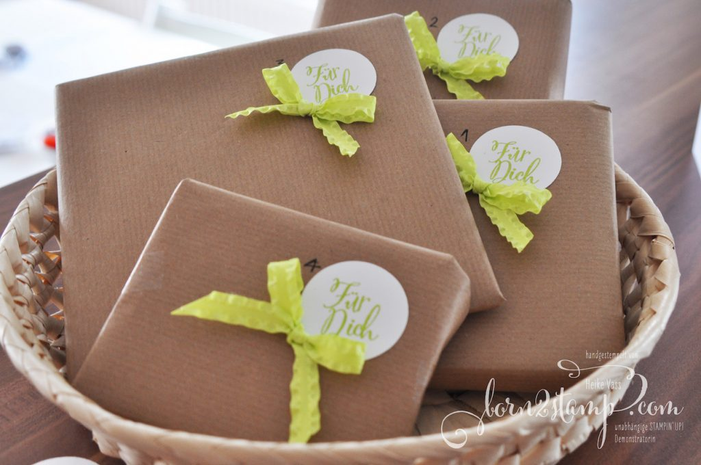 born2stamp STAMPIN' UP! Katalogparty 2018
