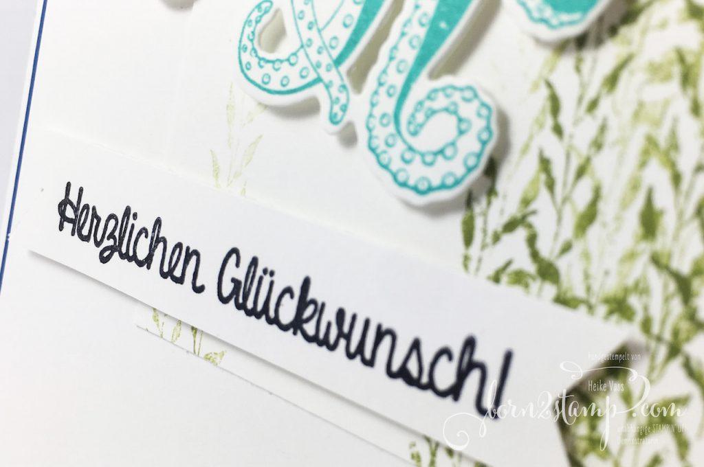born2stamp STAMPIN' UP! INKSPIRE_me - Geburtstagsspecial - Geburtstagskarte - Glück und Meer - Persönlich überbracht