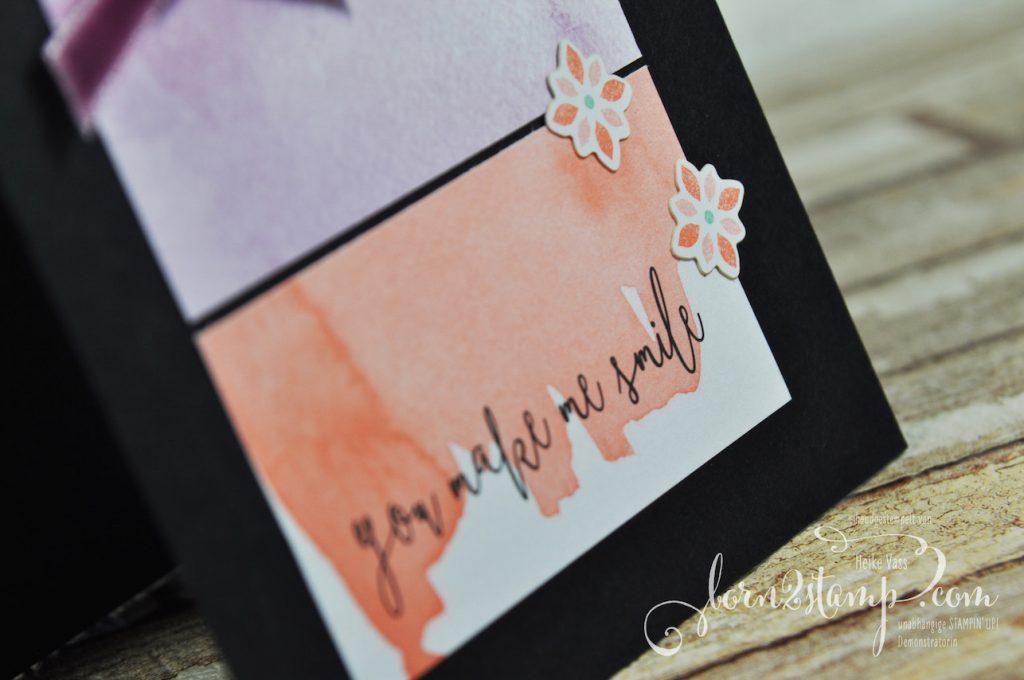 born2stamp STAMPIN' UP! Stamping Technique to try - Geburtstagskarte - Erinnerungen und mehr - Fantastisch filigran