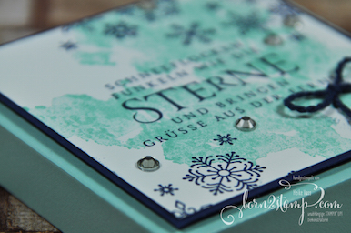 born2stamp STAMPIN' UP! Envelope Punch Board - EPB - Flockenfantasie - Kordel