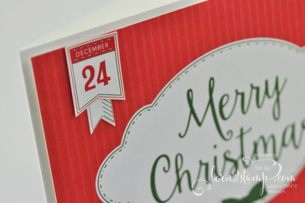 born2stamp STAMPIN' UP! INKSPIRE_me Weihnachts-Special - Weihnachtskarte - Weihnachtswerkstatt