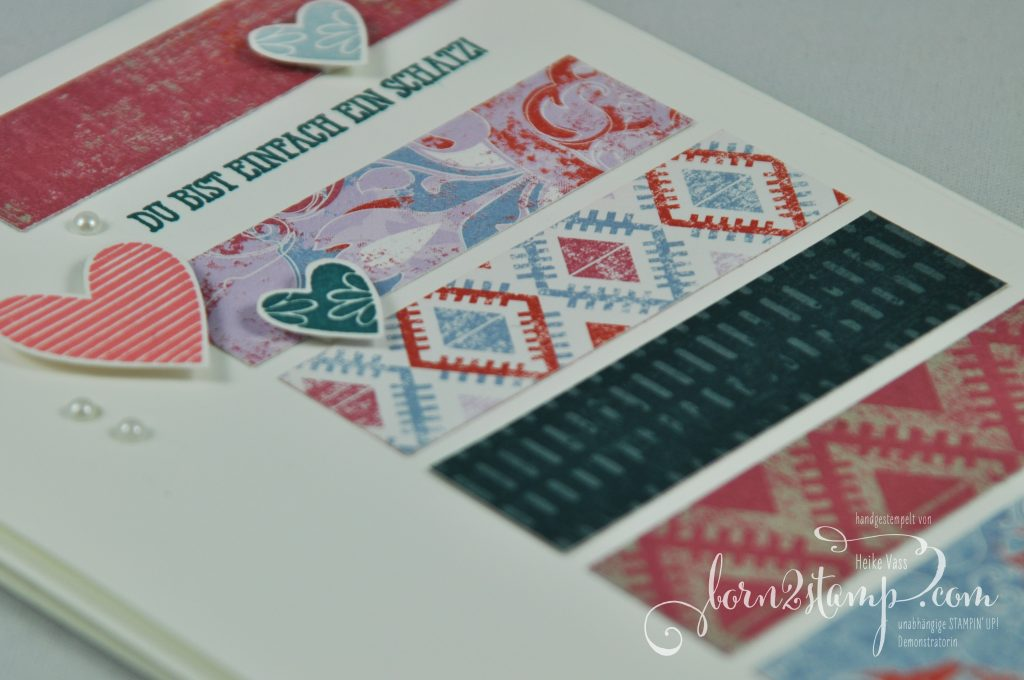 born2stamp IN{K}SPIRE_me STAMPIN' UP! Karte - DSP Vintage-Flair - Herzenssache - Gut gesagt