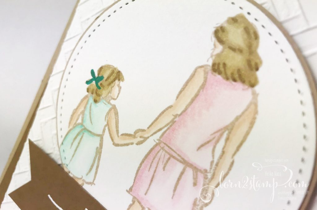 born2stamp STAMPIN UP INKSPIRE_me Beautiful Moments - Strandmatte - Stickmuster - Strass in Champagner