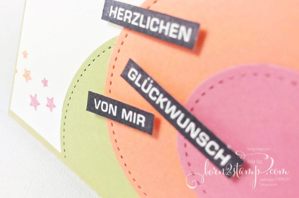 born2stamp STAMPIN UP INKSPIRE_me Geburtstagskarte - Alles im Block - Stanzformen Stickmuster