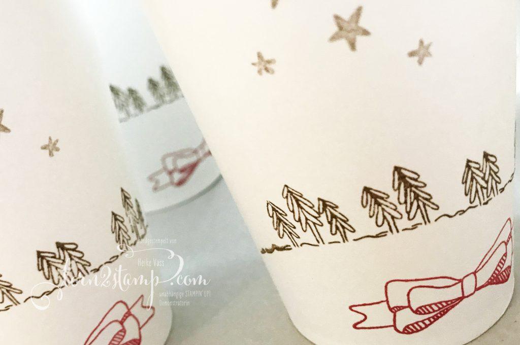 born2stamp Adventskalender Geschwungene Weihnachten