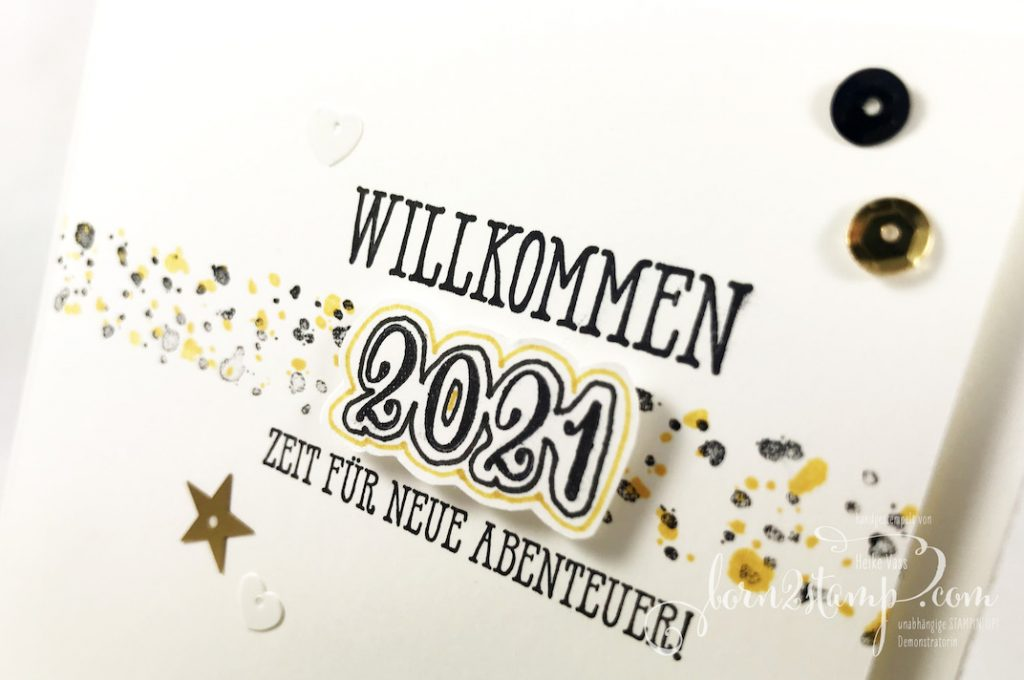 born2stamp INKSPIRE_me Silvester Special - Aus der Kreativwerkstatt - Gut gesagt - Borders to Background